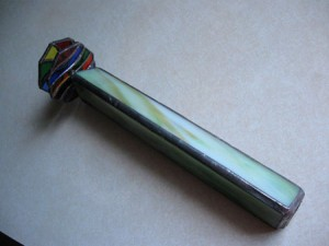 single stained glass kaleidoscope