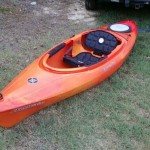 My new kayak which is a perception prodigy 10.0